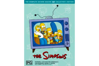 The Simpsons : Season 2 -Animated Series Rare- Aus Stock DVD PREOWNED: DISC LIKE NEW