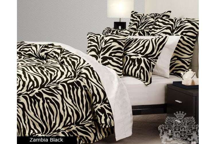 ZAMBIA Quilt Cover Set SINGLE