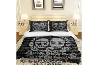 3D Rock Band Green Day Quilt Cover Set Bedding Set Pillowcases 49