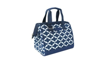 Sachi Insulated Lunch Bag Moroccan Navy