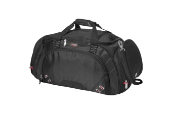 Elleven Proton Travel Bag (Solid Black) (56 x 25.5 x 30.5 cm)