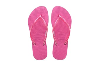 Havaianas Slim Thongs (Hollywood Rose)