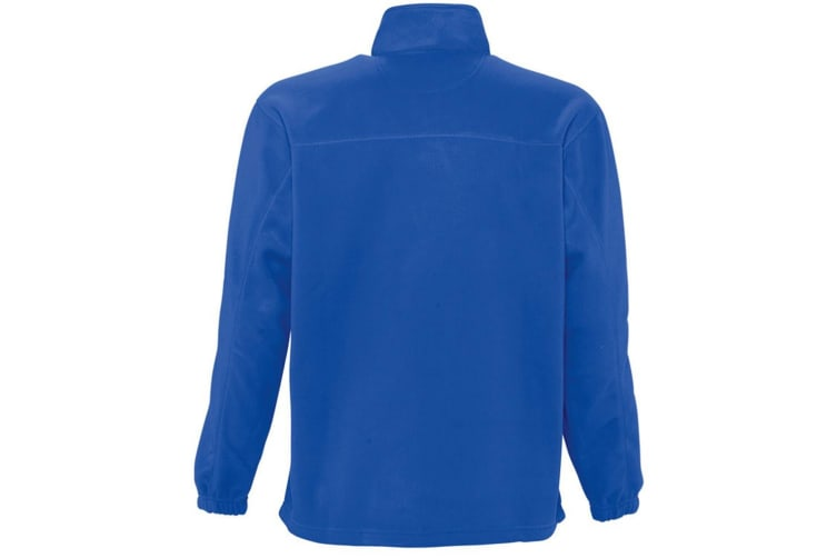 SOLS Ness Unisex Zip Neck Anti-Pill Fleece Top (Royal Blue) (XL)