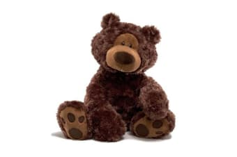 Gund Bear Philbin Dark Brown
