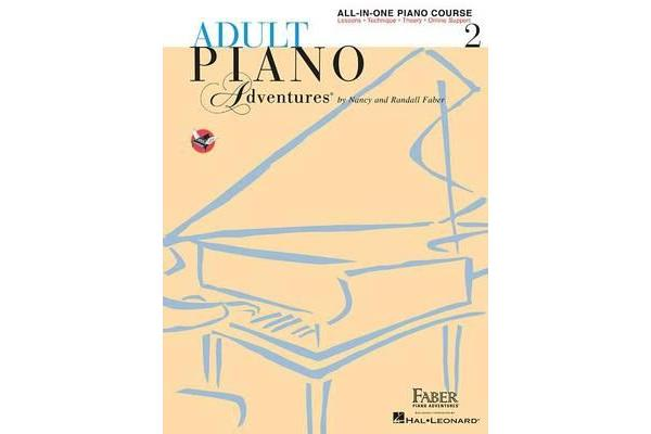 Adult Piano Adventures: Book 2 - All-In-One Lesson