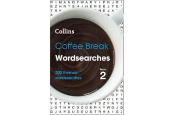 Coffee Break Wordsearches book 2 - 200 Themed Wordsearches