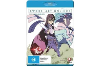 Sword Art Online 2 : Part 2 - Blu Ray Region B Free Ship