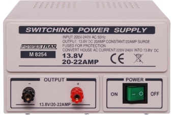 Fixed 13.8V 20A Benchtop Regulated Power Supply