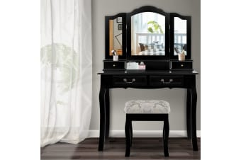 Dressing Table Stool Mirrors Jewellery Cabinet Drawers Organizer