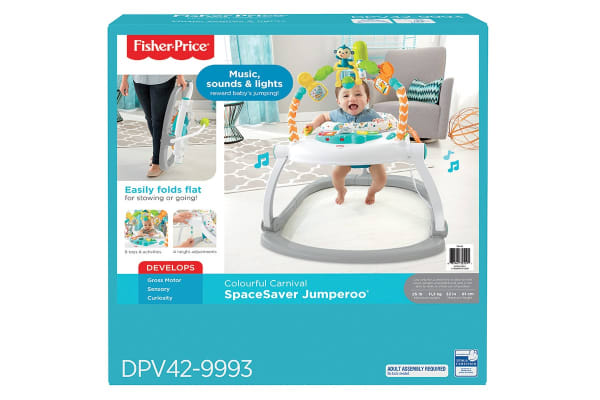 Fisher Price Colourful Carnival Space Saver Jumperoo