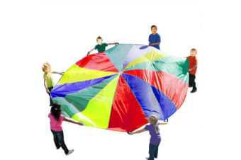 Multi-Colour 3.5M Kids Play Parachute 12 Handles