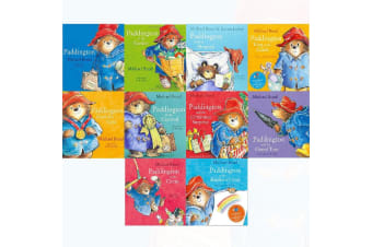Paddington 10 Book in PVC Ziplock Bag