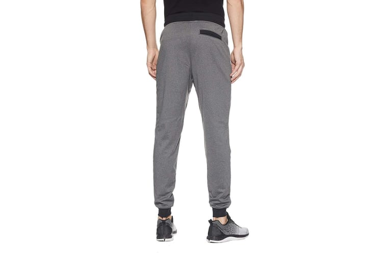 Under Armour Men's Sportstyle Joggers (Carbon Heather/Black, Size Large)