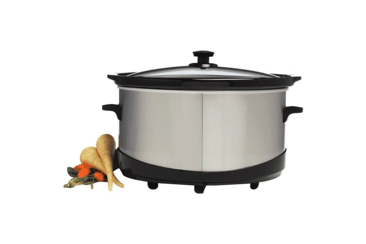 Kambrook Deluxe 6L Multisetting Slow Cooker (KSC120BSS)