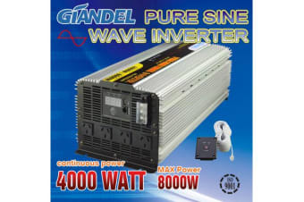 4000W Pure Sine Wave Inverter with Remote Control