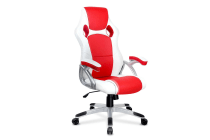 Racing Office Chair (Red/White)