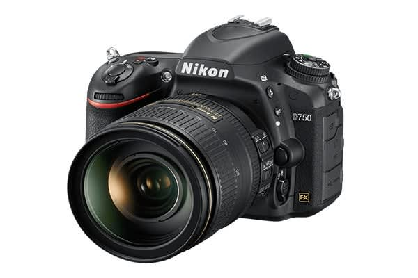 Nikon D750 DSLR Camera AF-S 24-120 VR Lens Kit