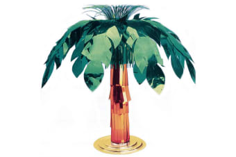 Amscan Hawaiian Giant Foil Palm Tree Centrepiece (Multicoloured)