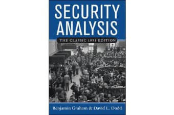 Security Analysis: Classic 1951 Edition - Principles and Technique