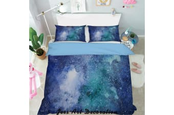 3D Color Abstract Starry Sky Quilt Cover Set Bedding Set Pillowcases  132-King