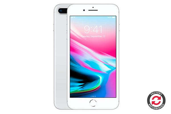 Apple iPhone 8 Plus Refurbished (256GB, Silver) - A Grade