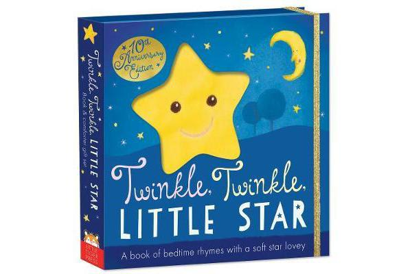 Twinkle, Twinkle, Little Star - Book and snuggler