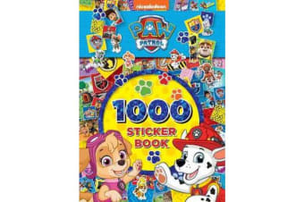 Paw Patrol 1000 Sticker Book