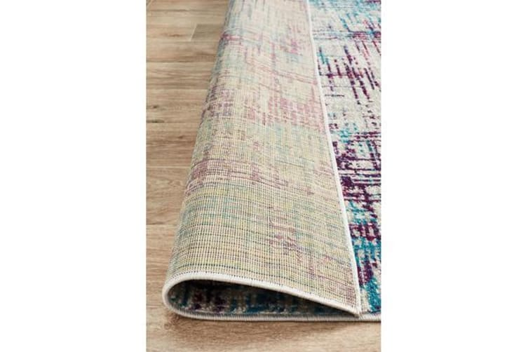 Felicia Blue & Purple Soft Bohemian Rug 330x240cm
