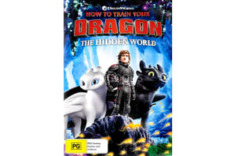 How To Train Your Dragon The Hidden World -Animated Rare- Aus Stock DVD NEW