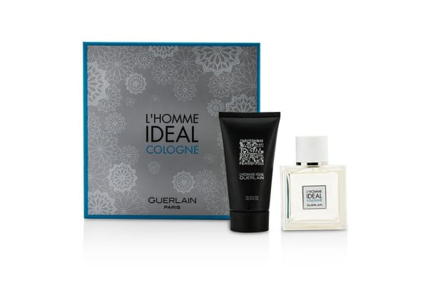 Guerlain L'Homme Ideal Cologne Coffret: Eau De Toilette Spray 50ml/1.6oz + Shower Gel 75ml/2.5oz (2pcs)