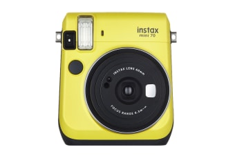 Fujifilm Instax Mini 70 Instant Camera (Canary Yellow)
