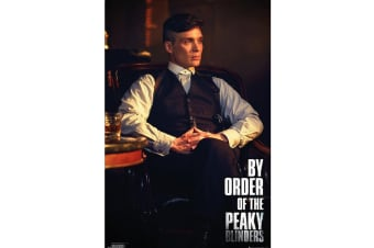 Peaky Blinders By Order Of The Poster (Multicolour) (One Size)