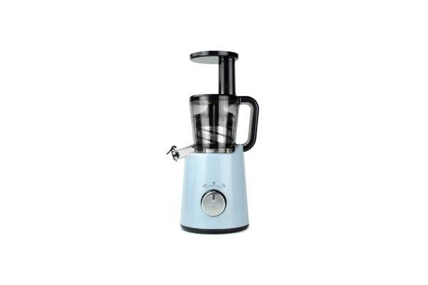 TODO Slow Juicer Cold Press Juice Extractor Processor Healthy Electric Fruit Veggie - Blue
