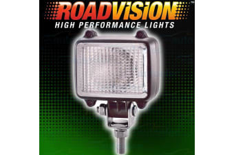 ROADVISION WORK LIGHT LIGHTS LAMP FLOOD BEAM 55W WATT COMPACT SQUARE 12V NS1113