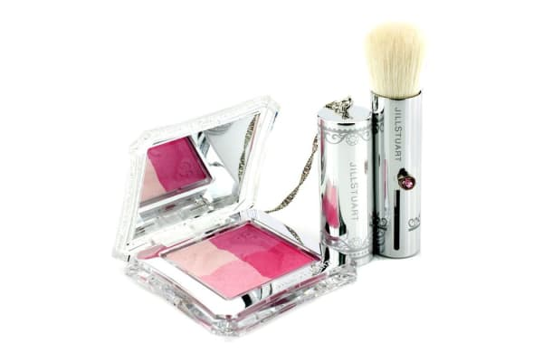 Jill Stuart Layer Blush Compact (4 Color Blush Compact + Brush) - # 01 Baby Berry (4.2g/0.14oz)