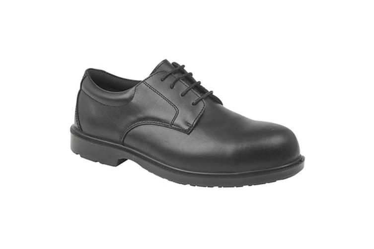 Grafters Mens Uniform Fully Composite Non-Metal Safety Brogues (Black) (7 UK)