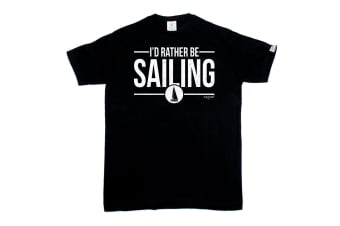 Ocean Bound Sailing Tee - Id Rather Be Mens T-Shirt