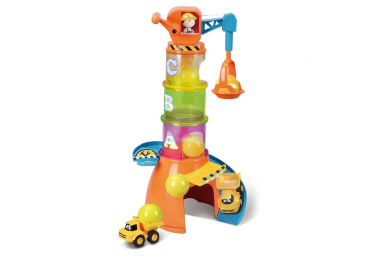 BB Junior Volvo 5-1 Stacking Crane Baby Educational/Learning Stack Toys 12-36m