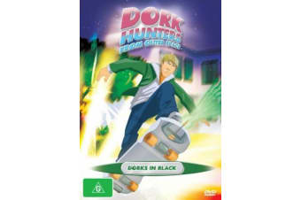 Dork Hunters From Outer Space Dorks In Black Vol 2 -Animated Series DVD NEW