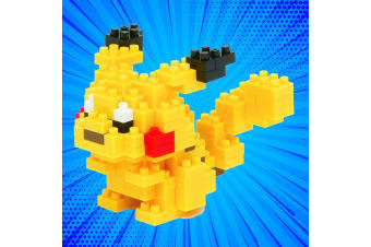 Pokemon Pikachu Nanoblock Kit - 130 Pieces