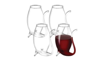 Avanti Glass Port Sippers Set of 4
