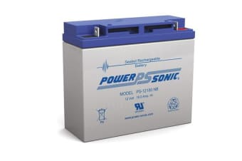 Power Sonic 12V 18Amp Sla Battery