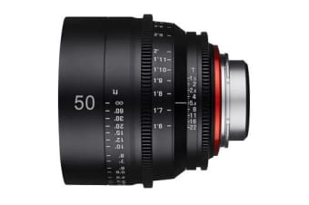 New Samyang Xeen 50mm T1.5 Lens for Canon (FREE DELIVERY + 1 YEAR AU WARRANTY)