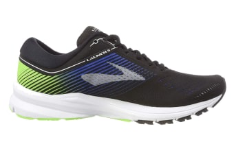 Brooks Men's Launch 5 (Black/Blue/Green, Size 11.5)