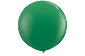 Qualatex 5 Inch Plain Latex Party Balloons (Pack Of 100) (48 Colours) (Green)