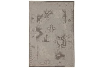 Dash Indoor Outdoor Modern White Rug 160X110cm