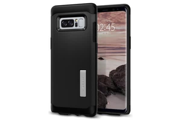 Spigen Galaxy Note 8 Slim Armor Case Black. Certified Military-Grade Protection