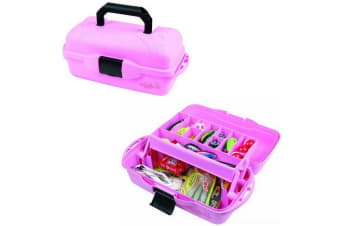 Flambeau 1515 Classic Series Pink 1 Tray Fishing Tackle Box