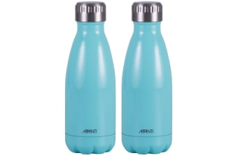 9de99adfce 2x Avanti 350ml Water Vacuum Thermo Bottle 2 Wall Stainless Steel Cold Hot  Drink