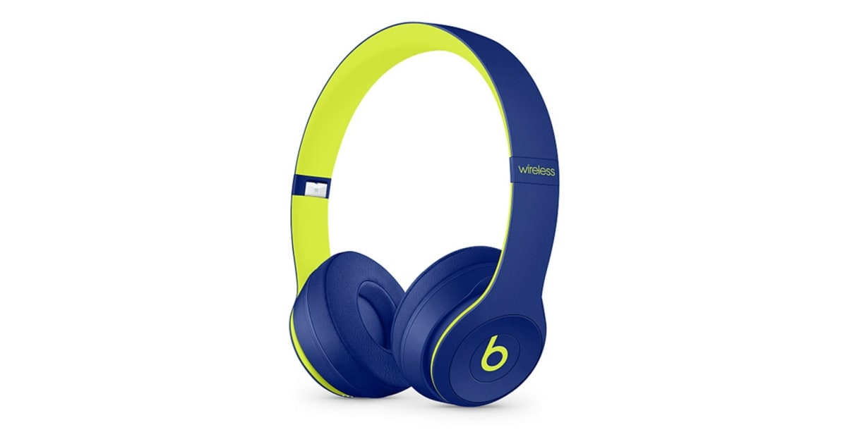 0356653e989 Beats Solo3 Wireless Headphones Pop Collection (Pop Indigo) - Kogan.com
